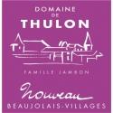 domaine de Thulon beaujolais nouveau 2020
