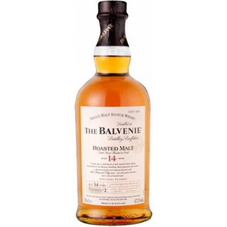 The Balvenie roasted malt 14 ans