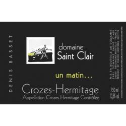 Denis Basset 2019 Un matin