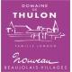 domaine de Thulon beaujolais nouveau 2019