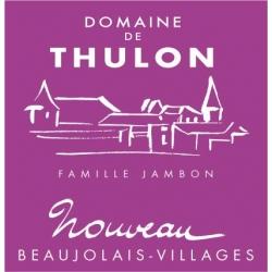domaine de Thulon beaujolais nouveau 2018