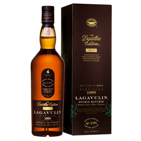 Lagavulin 1996 Distillers Edition