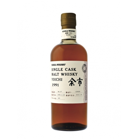 whisky Nikka Yoichi 1991 heavily peated