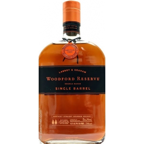 Woodford single barrel bourbon