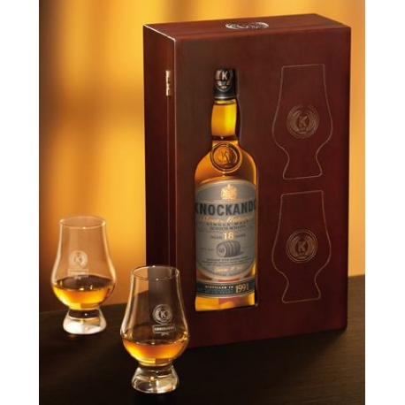 Knockando 18 ans slow matured coffret