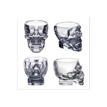 Shot Crystal Head