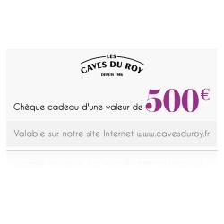 Chèque cadeau 500 €