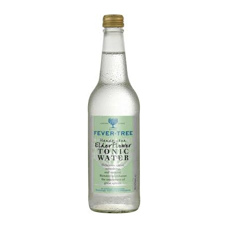 Fever-tree elderflower tonic