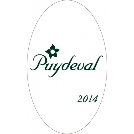 Puydeval blanc 2014