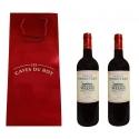 2 bouteilles de Bordeaux