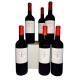 6 bouteilles de Bordeaux