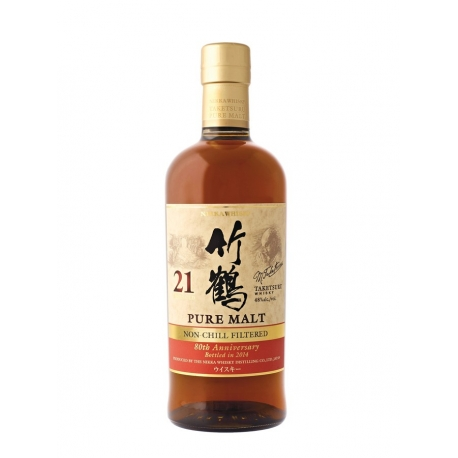 Nikka Taketsuru 21 ans non-chill filtered