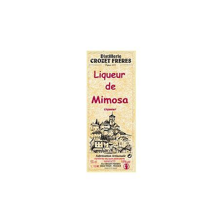 Liqueur de mimosa