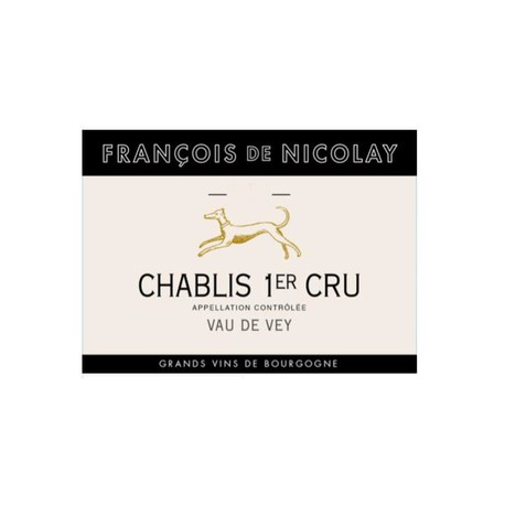 François de Nicolay Chablis 1er cru Vau  de Vey 2016